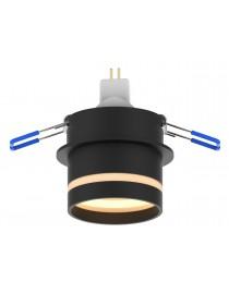 Акцентный светильник luxel GU10 IP20 черный (DLD-07B)