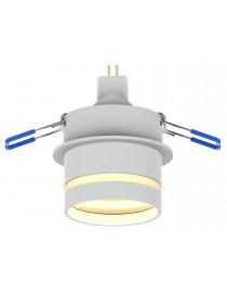 Акцентный светильник luxel GU10 IP20 белый (DLD-07W)
