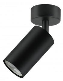Акцентный светильник luxel GU10 IP20 черный (DLD-08B)