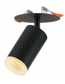 Акцентный светильник luxel GU10 IP20 черный (DLD-09B)
