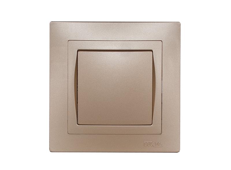 Выключатель BRAVO (5602) платина