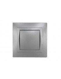 Выключатель Luxel BRAVO (5702) графитовый