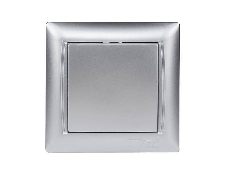 Выключатель PRIMERA (3502) серебро
