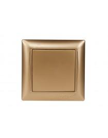 Выключатель Luxel PRIMERA (3602) золотой