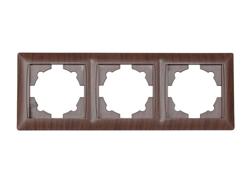 Рамка 3-я горизонтальная PRIMERA (3923) вишня