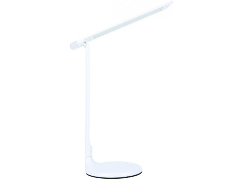 Светодиодный настольный светильник Luxel 220-240V 10W IP20 (белый)+ночник (TL-01W)